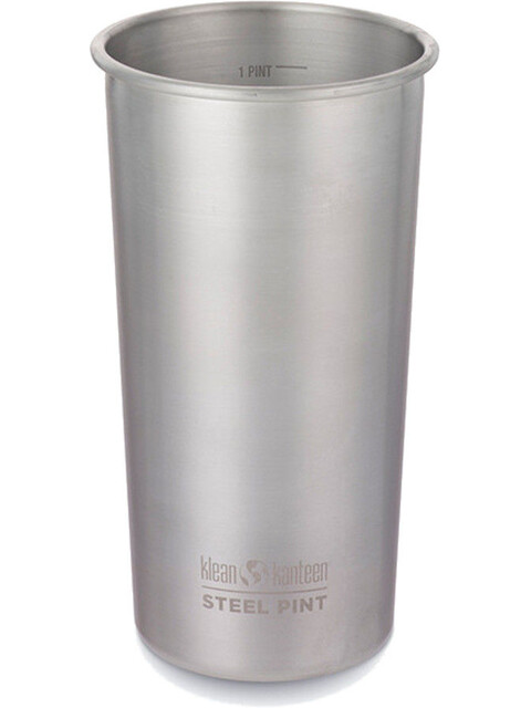 Klean Kanteen Pint Cup 20oz (592 ml) Brushed Stainless